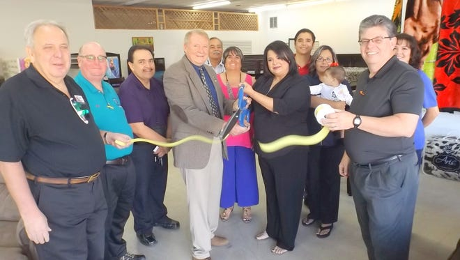 Kingdom Furniture holds its grand opening in Silver City.