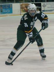Alex LoPresti of Passaic Valley/Cedar Grove is an All-Big North Patriot first team forward.