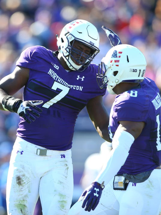 NCAA Football: Eastern Illinois at Northwestern