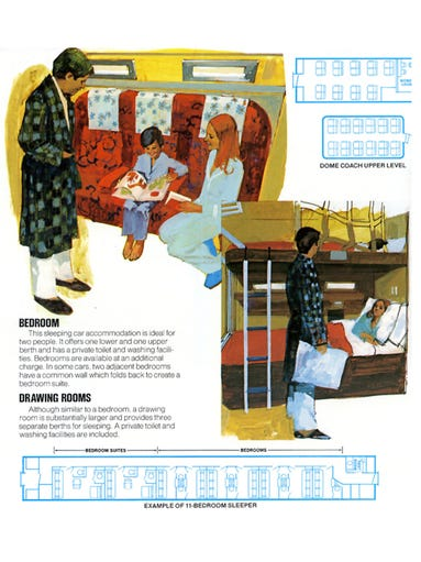 What Riding Amtrak Was Like In The 1970s