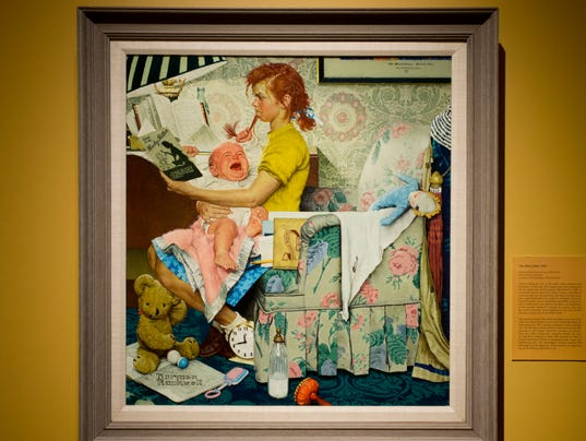 value of rockwell painting re examined in vermont