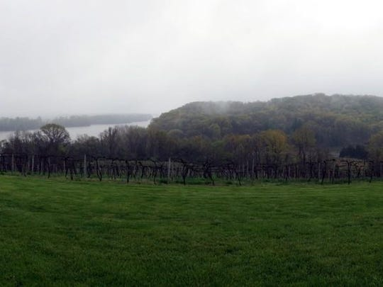 Oak Glenn Winery has one of the best views of any winery on the trail. Be sure to stop by and enjoy it.