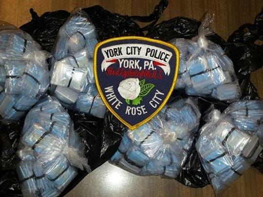 Police confiscated $25,000 in heroin from a man they