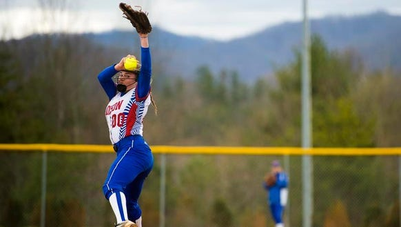 Sophomore Savannah Rice pitched a 12-strikeout no-hitter