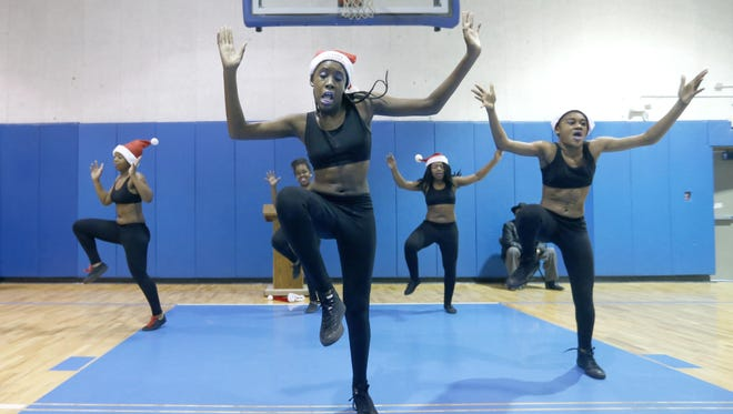 Sh'Nya Smith, 11, and Jahira Drumgoole, also 11, perform with Sweet Dancerz at the Boys & Girls Club of Rochester.