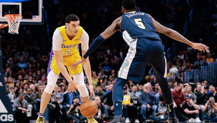 NBA rookie rankings: Lakers' Lonzo Ball gaining confidence after MCL injury