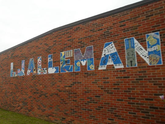 L..J. Alleman Middle School had some of the top scores