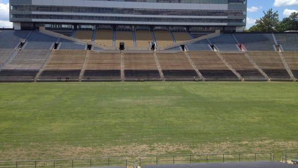 Ross-Ade Stadium turf