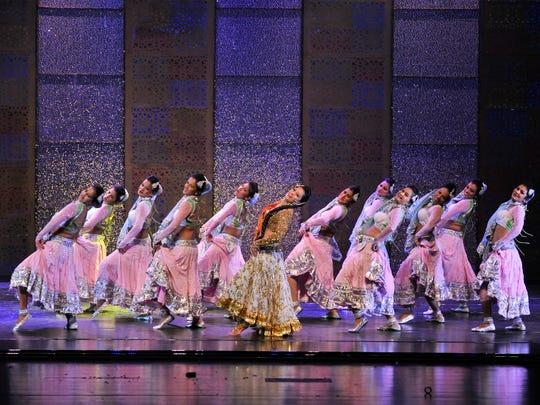 "Photo of ""Taj Express: Bollywood Musical Revue"" cast members."