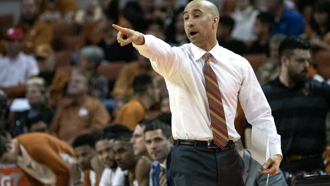 Texas' Shaka Smart is one of just eight Black head basketball coaches at Power Five schools, according to research by the Louisville Courier Journal.