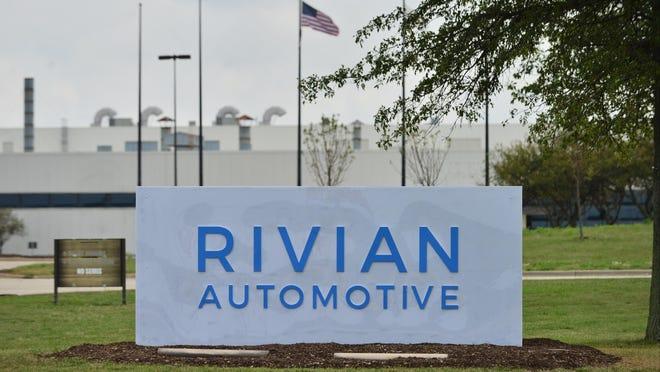 Rivian Automotive´s facility along Mitsubishi Motorway in Normal in 2017.