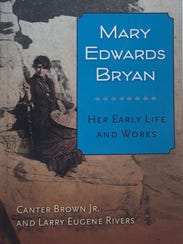 """Book cover for """"Mary Edwards Bryan: Her Early Life"""