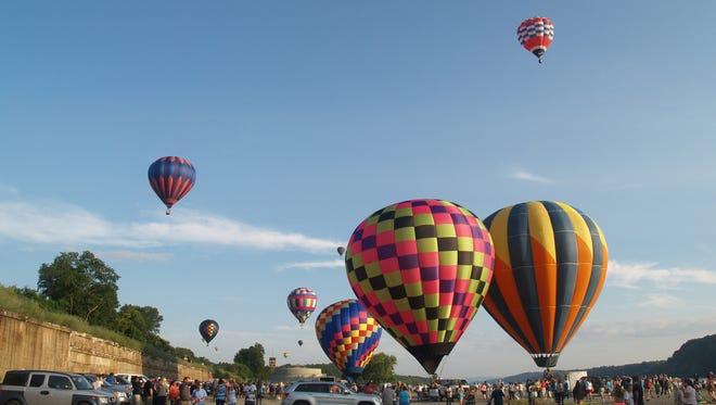 The 25th annual Hudson Valley Hot-Air Balloon Festival.