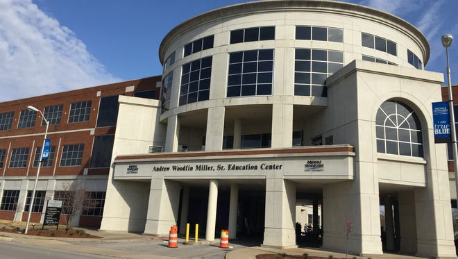 The Andrew Woodfin Miller Sr. Education Center formally opened Monday morning. Middle Tennessee State University purchased the former Middle Tennessee Medical Center building on Bell Street in 2013.