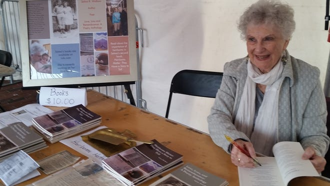 Selma Ruth Wolkow will sign copies of her poetry books at the Jewish Heritage and Food Festival.