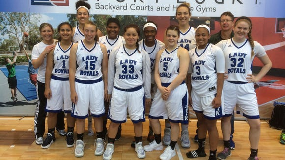 The WNC Lady Royals 11th grade basketball team won its age division at the Great Smokies Shootout played last weekend in Hickory.