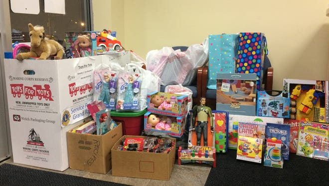 The Wisconsin Rapids Daily Tribune is collecting new, unwrapped toys for this year's Toys for Tots drive through Dec. 8.
