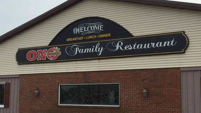 The new Ono Family Restaurant at 10609 Allentown Blvd. is turning the page on the public health issues that dogged the previously named Farmer's Wife Restaurant.