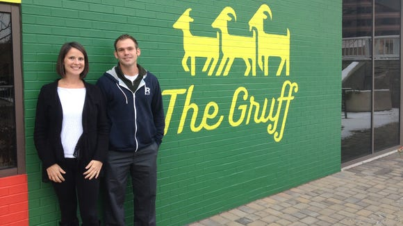 Owners Kristin and Avram Steuber are working to open