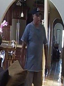 Scottsdale police are seeking help in identifying this man, who broke into a home for sale near Hayden Road and Shea Boulevard on July 12 at 12:45 p.m.