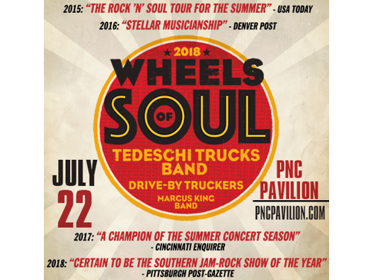 Win a pair of tickets to see the Tedeschi Trucks Band at PNC Pavilion. Enter 6/27-7/15.