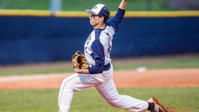 Nate Fore was the winning pitcher for Roberson on Thursday night.