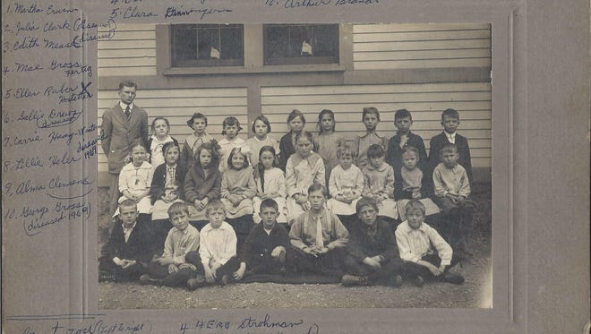 This History Mystery published Oct. 18, 2016, has been solved. The Lebanon County Historical wanted to find out the name of the school, and has learned that it is Higbee School in West Lebanon Township. The photo is marked 1918 third grade. The teacher was Harold Haag, and the students are identified.