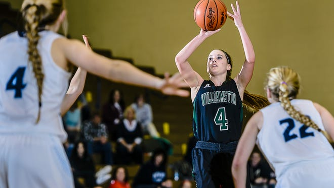 Maddie Watters, who helped Williamston to a 23-2 season,  earned first team Class B all-state recognition.