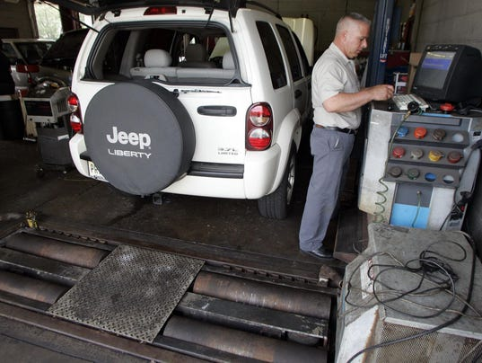 Nj seeks to overhaul car emissions testing for Motor vehicle in trenton new jersey