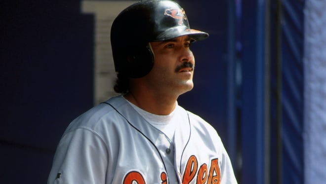 Rafael Palmeiro, who had a 20-year major-league career, is planning a return to professional baseball at the age of 53.