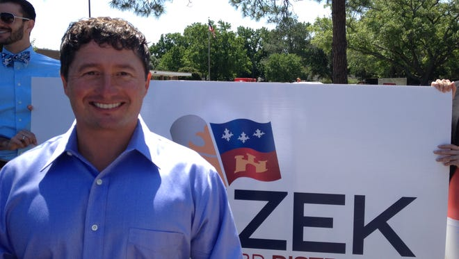 Erick Knezek will run for the District 8 seat on the Lafayette Parish School Board.