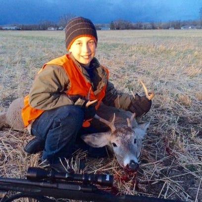 Joe Rosteck took this white-tailed deer near Simms.