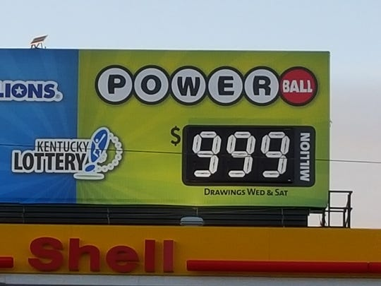 Kentucky Lottery sign on Bardstown Road.