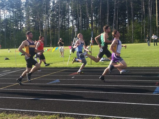 Snook (right) will compete in the 100, 200 and 400 at the state track and field meet.