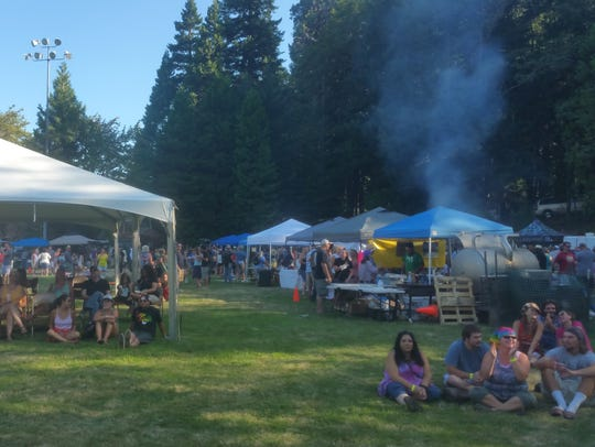 Tents will provide the shade and breweries the beer