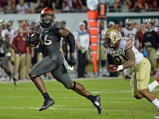 Chris Casher (21) played for Florida State before transferring