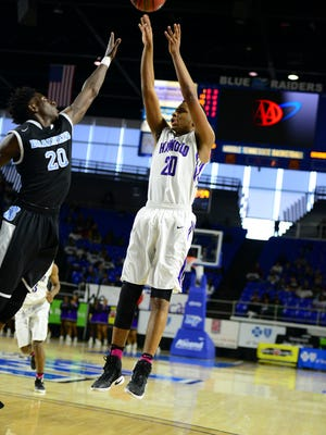 Haywood's Dedric Boyd scored 33 points to lead the Tomcats to a win over Brainerd in the Class AA quarterfinals.