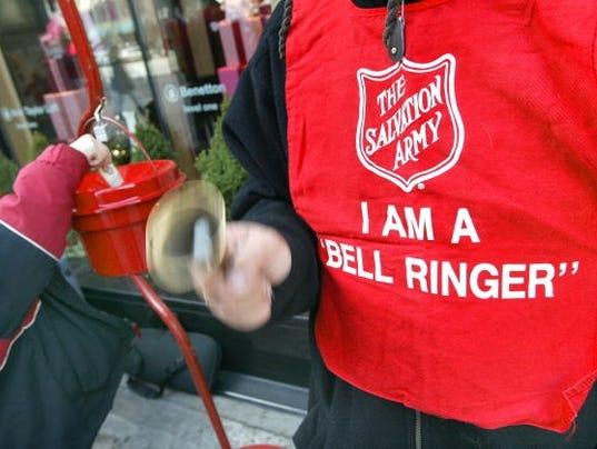 Salvation Army Kicks-Off Holiday Bell Ringing Season