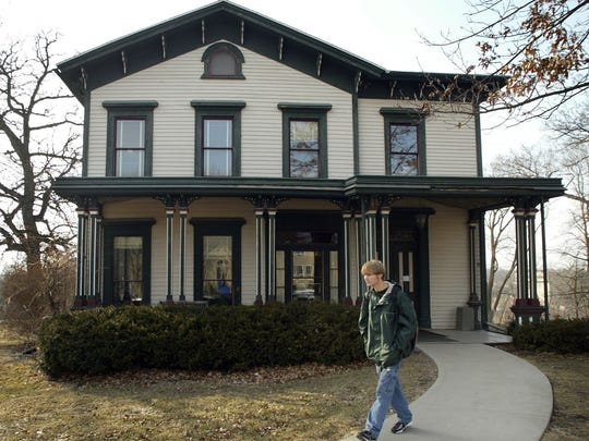 The Dey House in Iowa City, home of Iowa Writers' Workshop.