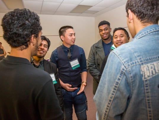 MCC students lead Men's conference workshop