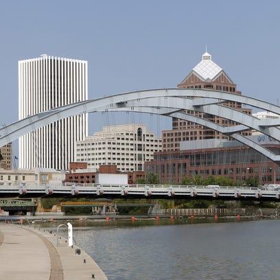 The Rochester skyline