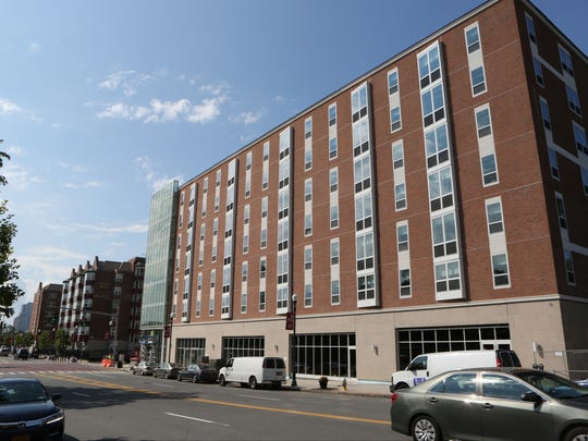 The brand new North Avenue Residence Hall at Iona College