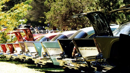 Aspenfest Rod Run and Car Show is back and bringing more than 200 custom cars to the Ruidoso Downs Racetrack Saturday and Sunday.