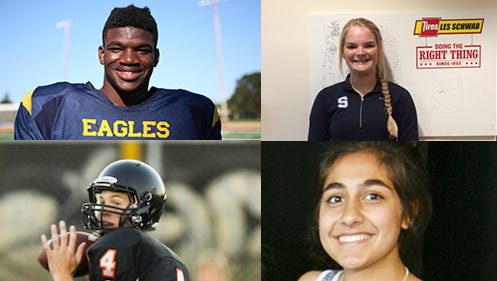 Statesman Journal Athlete of the Week nominees for the week of Sep. 4