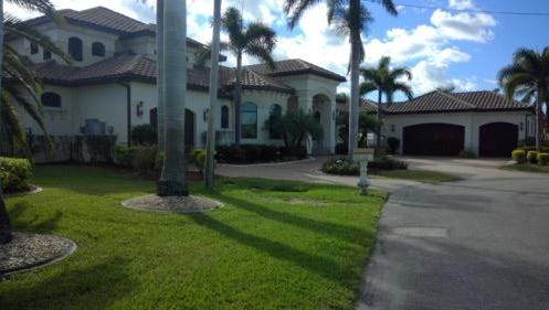 This home at 101 SW 54th St., Cape Coral, recently solf for $1.85 million.