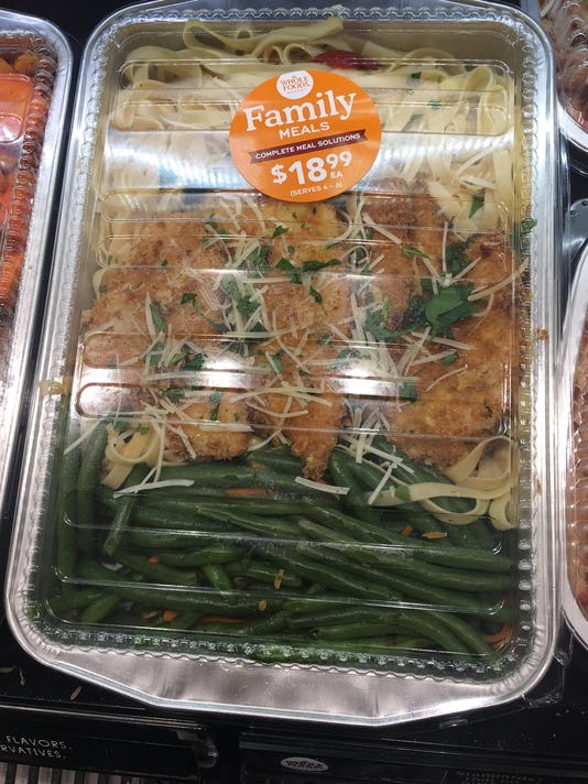 Many Fresh Delicious Options Available At Whole Foods Cafe