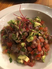 One of the many fresh salads offered at Zuzul.