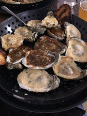The main focus of The Frozen Pirogue is oysters.