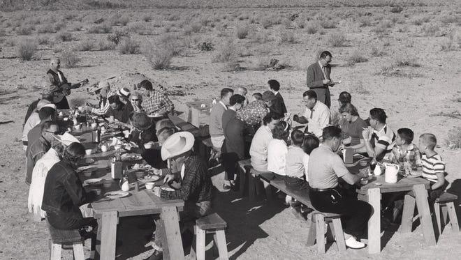 Breakfast ride circa 1950s. (Courtesy of Tracy Conrad)