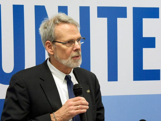 Rob Woods, executive director of the United Way of